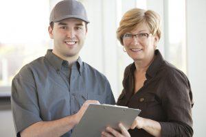 professional-technician-and-customer